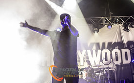 Hollywood Undead performing in Bournemouth
