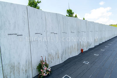 Flight 93 Name Stone Markers (5)