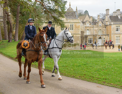 The Cottesmore Hunt at Exton Hall 8/2