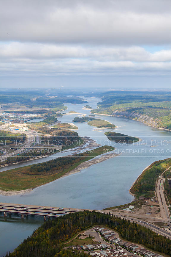 Athabasca River near Fort McMurray