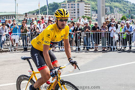 The Cyclist Fabian Cancellara-Tour de France 2012