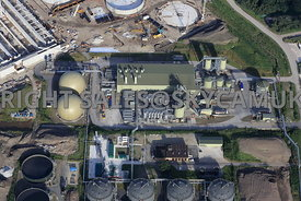 United Utilies Davyhulme water treatment plant Manchester