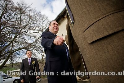 Salmond in The Highlands