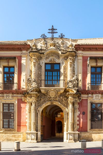 Archbishop's Palace of Seville, Andalusia, Spain