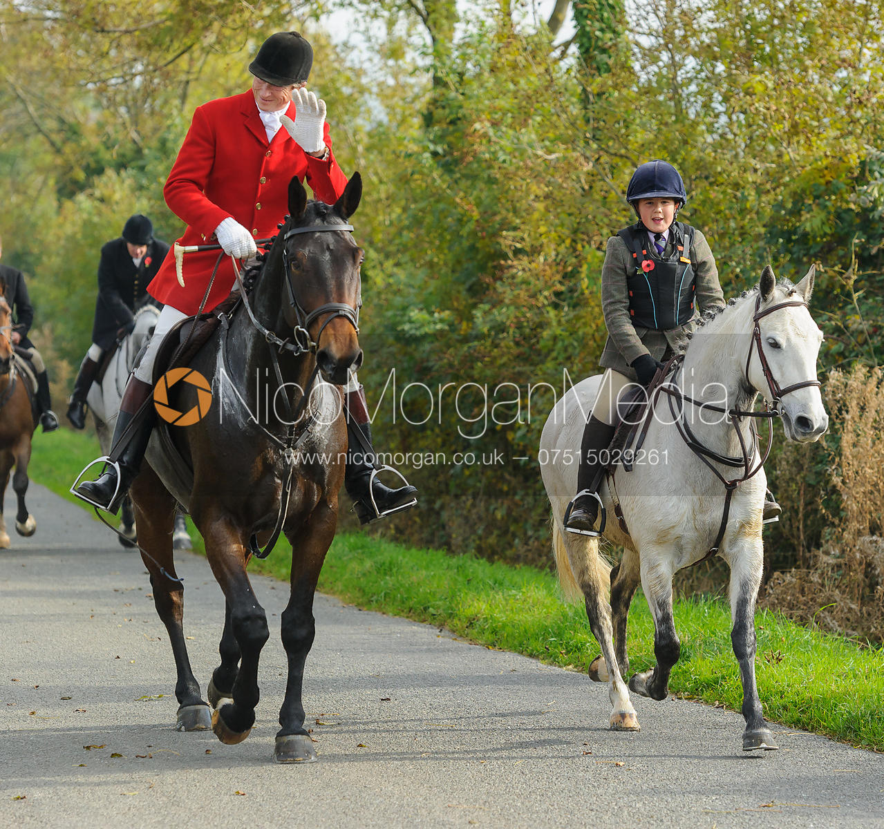Nicholas Leeming on Cold Overton Road - The Cottesmore at Langham.