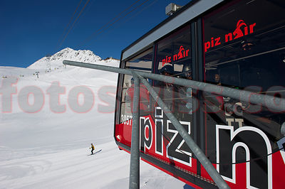 Piz Nair Ski Winter Day