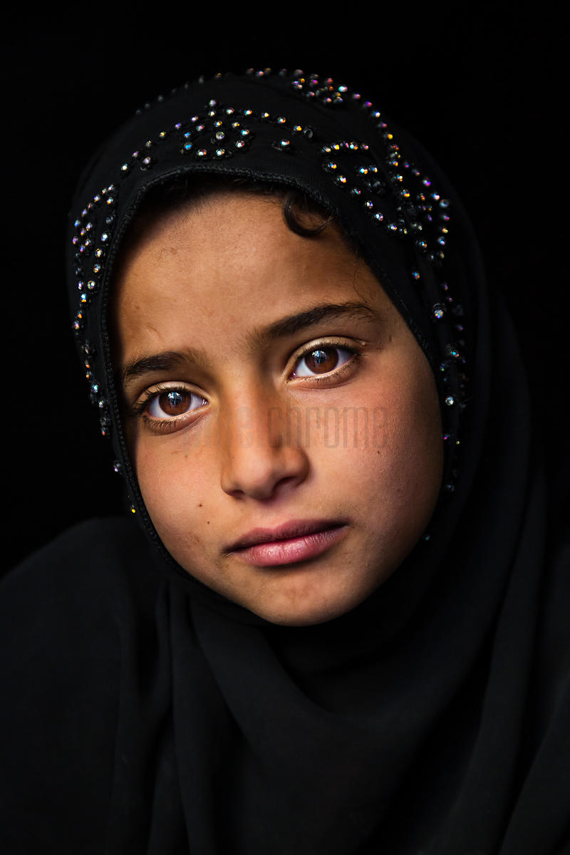 Portrait of a Young Moslem Girl