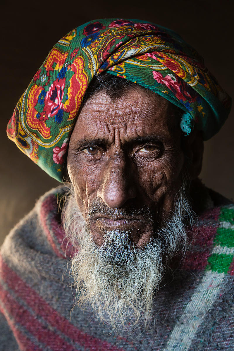 Portrait of a Pathan Tribal Elder