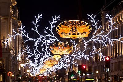 Regent Street Christmas Lights 2012