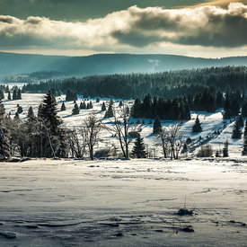 The Ore Mountains, Czech Republic