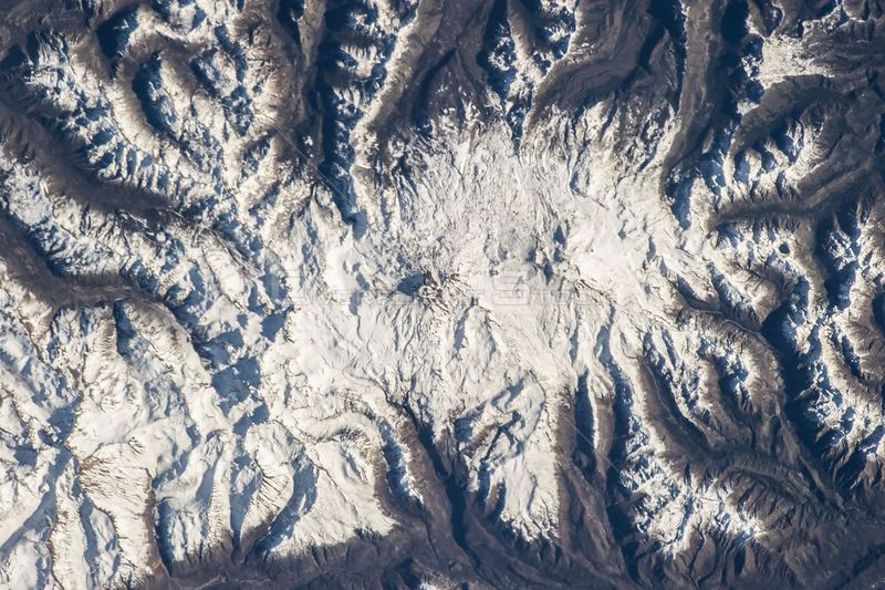 ABOARD THE INTERNATIONAL SPACE STATION -- 11 June 2013 -- Nevados de Chillan in Chile is featured in this image photographed ...