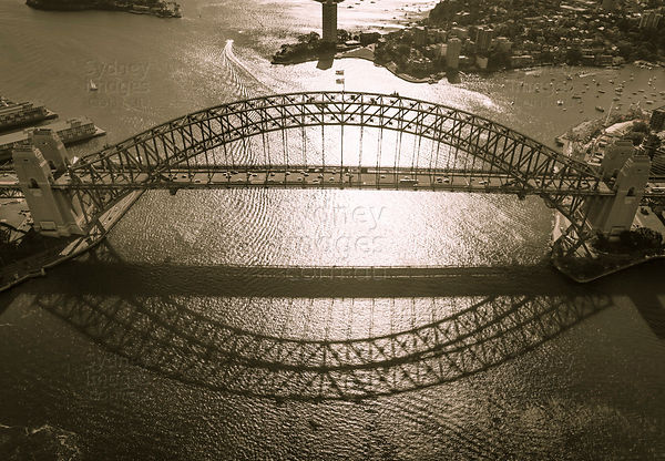 Sydney Harbour Bridge Shadow