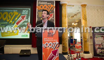 Wednesday 9th June, 2015.Small Firms Association 'Boost' Conference at the Clyde Court Hotel. Pictured is editor of the Sunda...