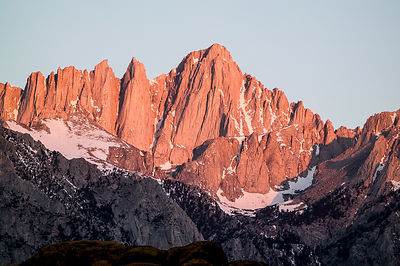 Mt. Whitney, King's Canyon National Park, California