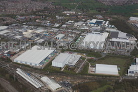 Crewe Industrial Estate Weston Road and the Third and Fourth Avenue