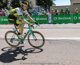 The Cyclist Jos van Emden - Tour de France 2015