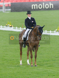 Tom McEwen and DRY OLD PARTY - Dressage - Mitsubishi Motors Badminton Horse Trials 2013.
