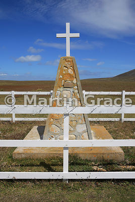 Argentine Learjet memorial, Pebble Island