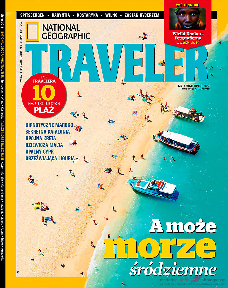 National geographic traveler Poland 2016 cover