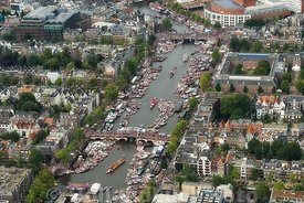 Amsterdam - Luchtfoto Canal Parade 09