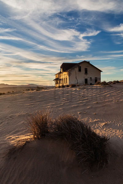 Sunrise at Kolmanskop