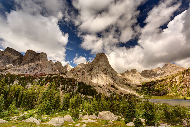 Wind River Range photos