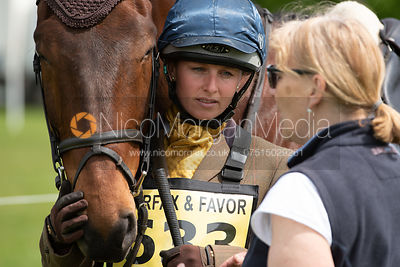 Yasmin Burt and MR KEEFE, Fairfax & Favor Rockingham Horse Trials 2018