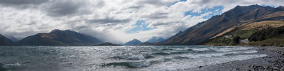 Windy day on Lake Wakatipu