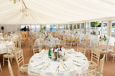 High Sheriff's charity lunch at Leicester Racecourse, July 2018
