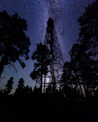 Milky Way Fire Tower