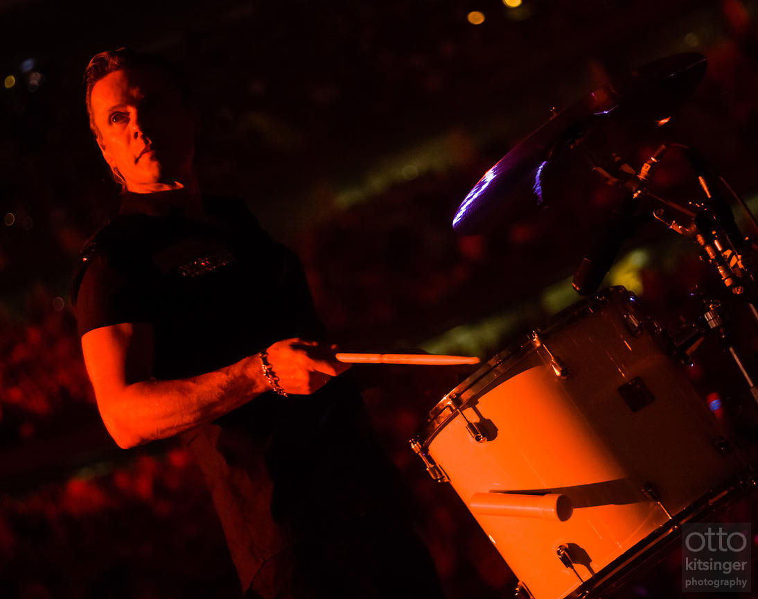 Larry Mullen Jr / U2 / Vertigo Tour / Chicago