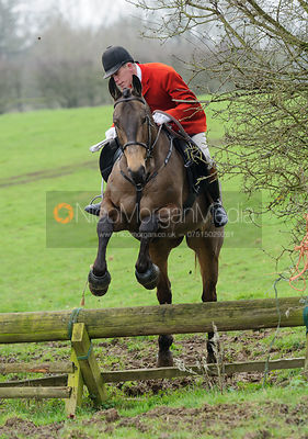 The Cottesmore Hunt at Wood Farm 13/2