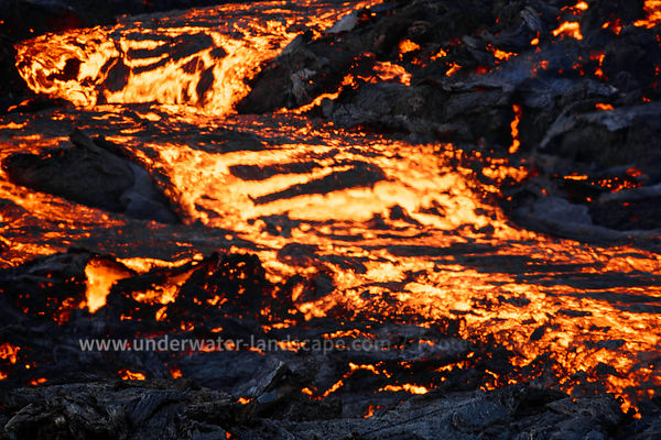 Focus on lava flow