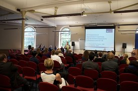 Collaborative conference 2013, Buxton campus, University of Derby.