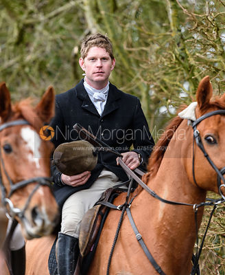 Angus Smales. The Cottesmore Hunt at Newbold Farm 16/2