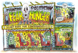 Fear-Monger-Conservative-Train