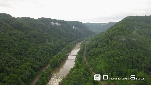 Drone Video New River Gorge West Virginia