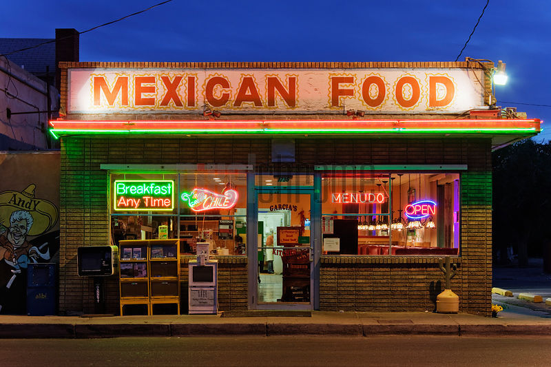 mexican diner, albuquerque, new mexico