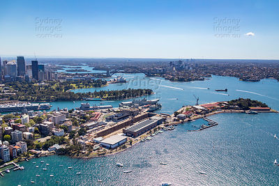 Garden Island and Potts Point