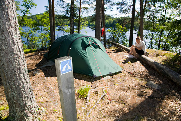 Camping Site in Renusaari