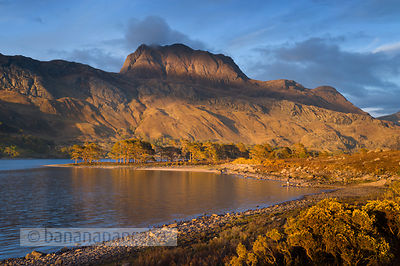 BP3123 - Slioch, from Loch Maree