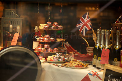 Jubilee Tea Party Shop Window Display