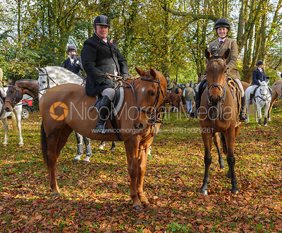 at the meet - The Cottesmore at Somerby 5/11
