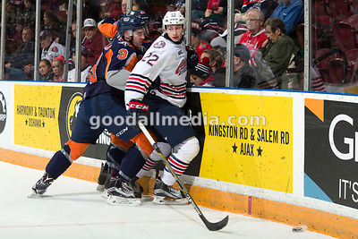 Oshawa Generals vs Flint Firebirds on December 18, 2015