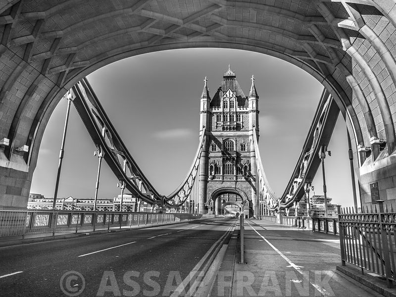 Through Tower Bridge