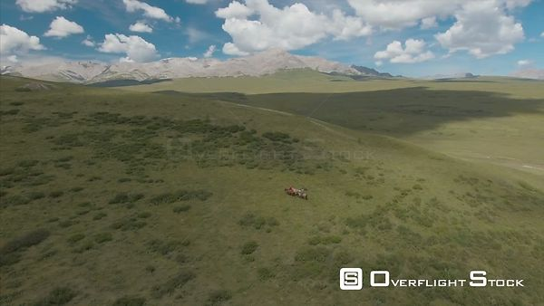 Khan Khentii Strictly Protected Area Drone Video Mongolia