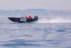A-61, Fortitudo Poole Bay 100 Offshore Powerboat Race, June 2018, 20180610269