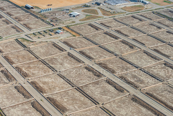 Empty Feedlot
