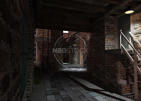 Old_London_Alley_-_17_-_Night