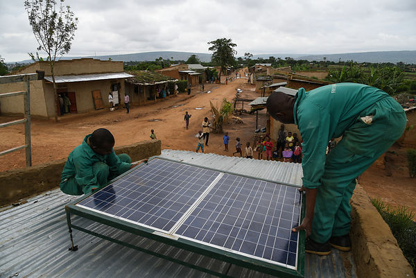 Solar Rural Electrification in Uganda